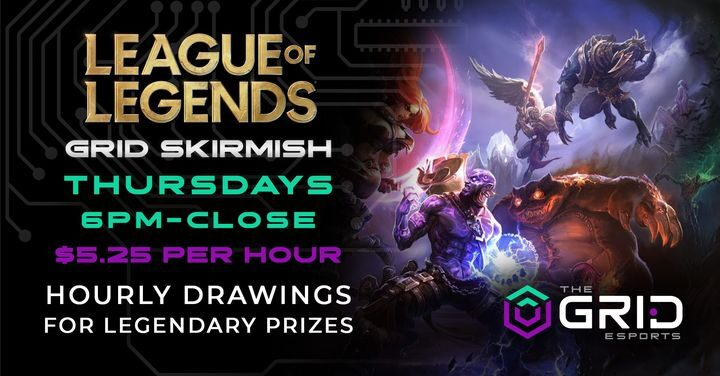 League of Legends GRID Skirmish